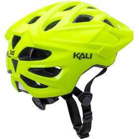 Kali Chakra Solo Helm matt neon gelb